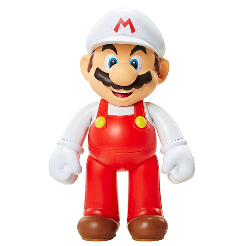 Super Mario Bros. Big Size Action Figure Fire Mario 51 cm Case (4)