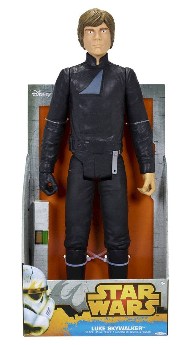 Star Wars Classic Big Size Action Figure Luke Skywalker 45 cm Case (4)