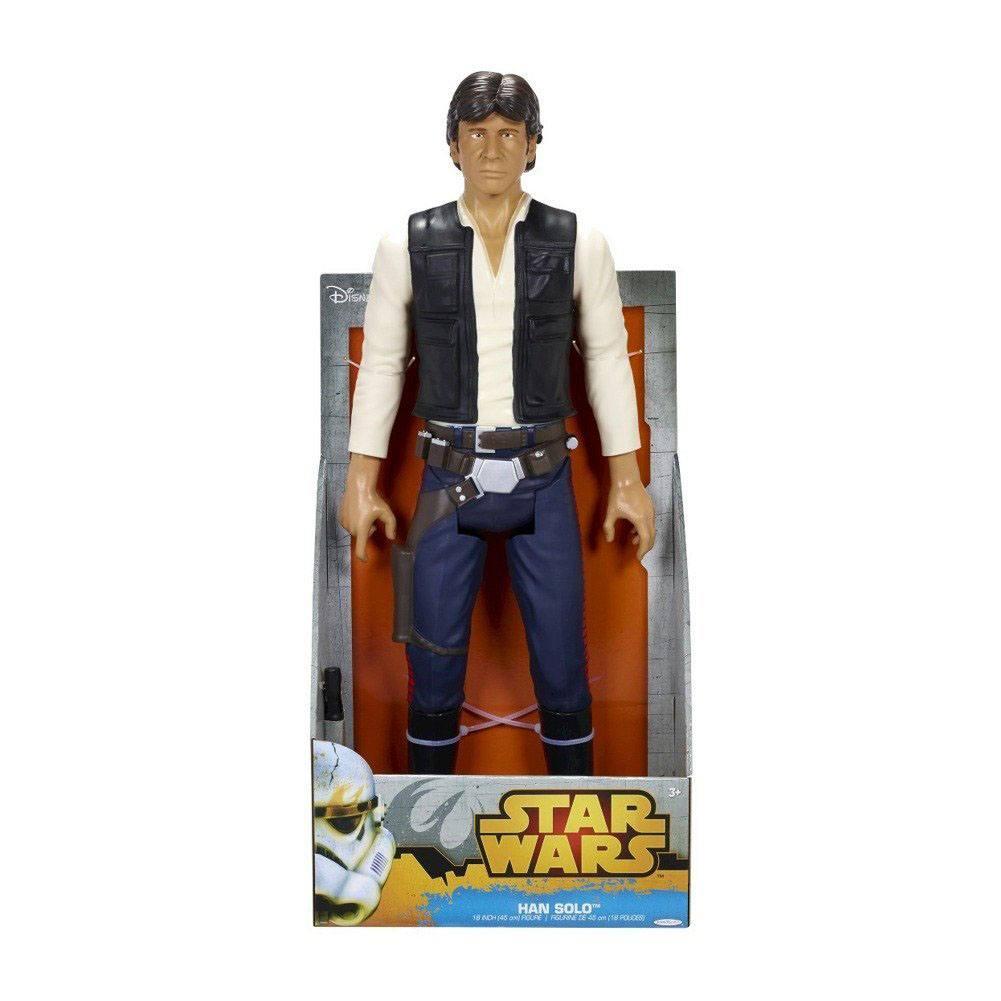 Star Wars Classic Big Size Action Figure Han Solo 45 cm Case (4)