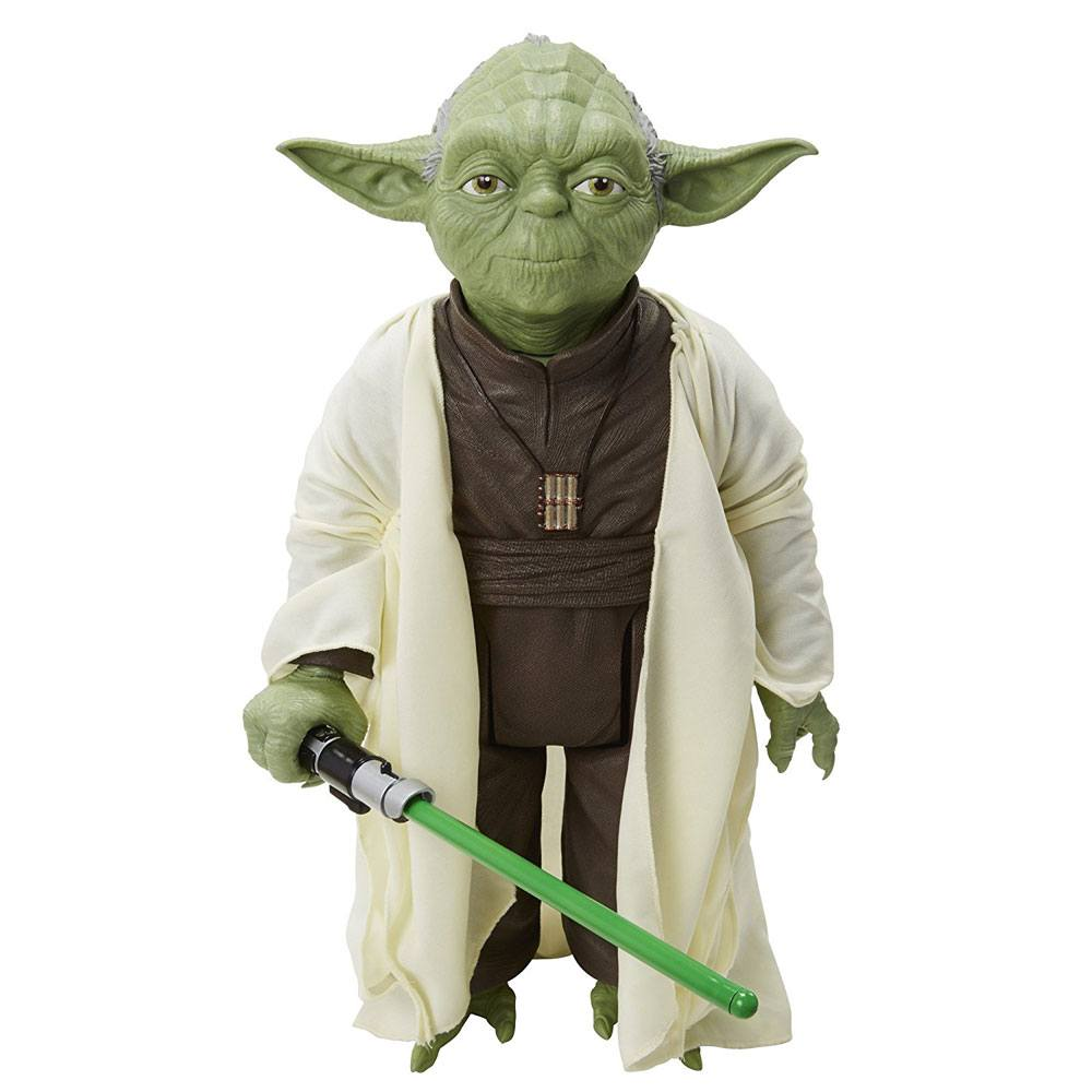 Star Wars Big Size Action Figure Yoda 45 cm Case (4)