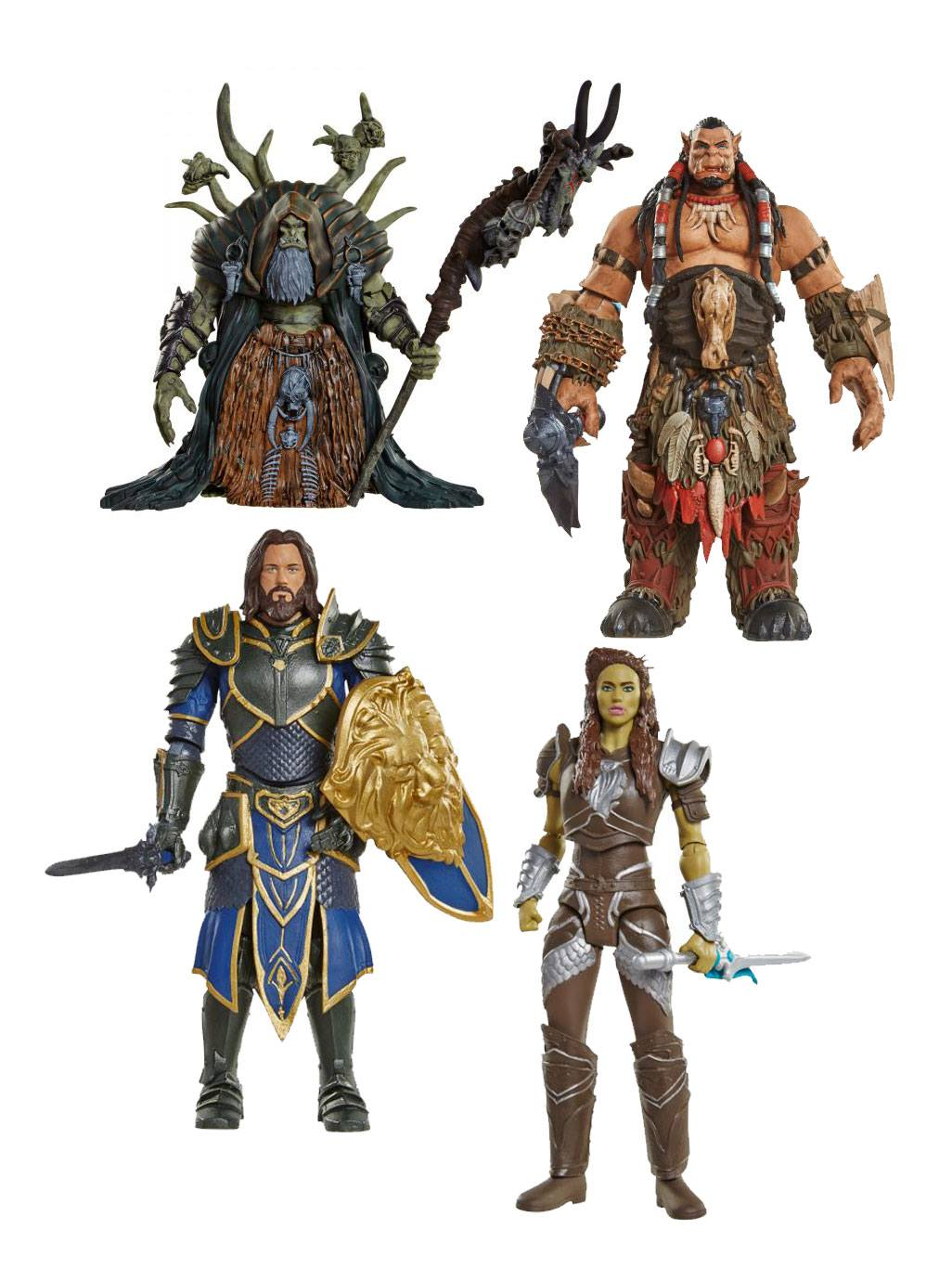 Warcraft Action Figures Wave 2 15 cm Assortment (6)