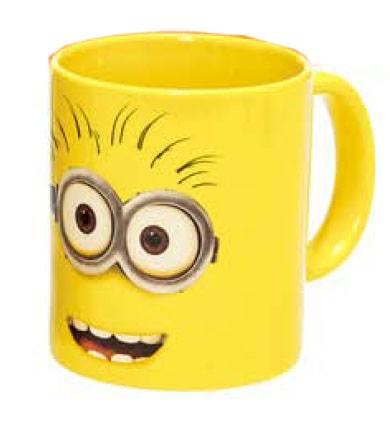 Despicable Me 2 Mug Minion Face