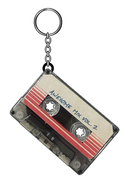 Guardians of the Galaxy Vol. 2 Metal Key Ring Awesome Mix Vol. 2