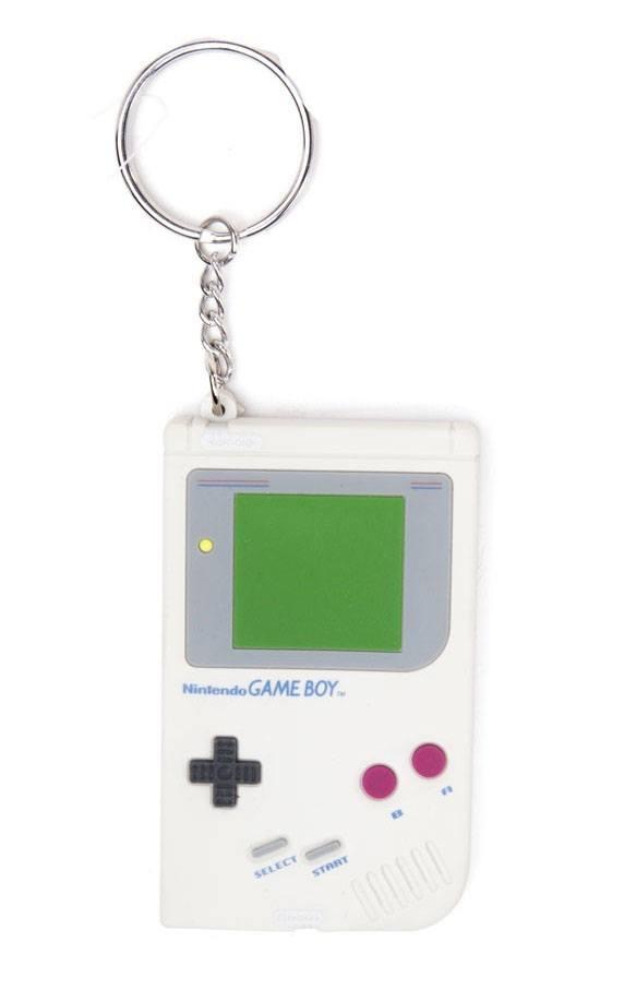 Nintendo Rubber Keychain Game Boy 6 cm