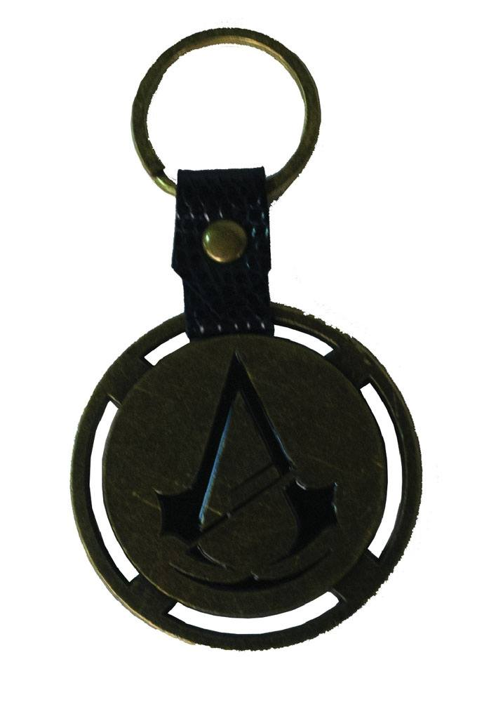 Assassin´s Creed Unity Metal Key Ring Logo & PU Snap