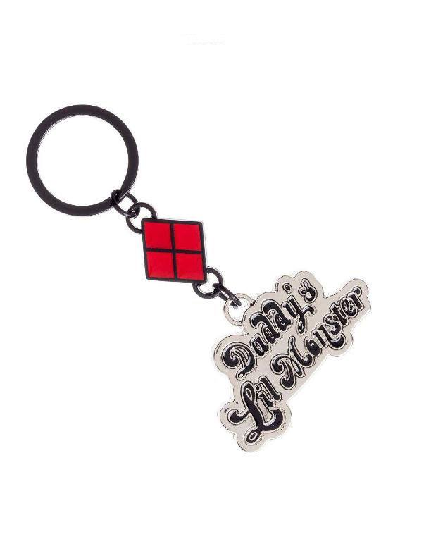 Suicide Squad Metal Keychain Daddy's Lil Monster 5 cm