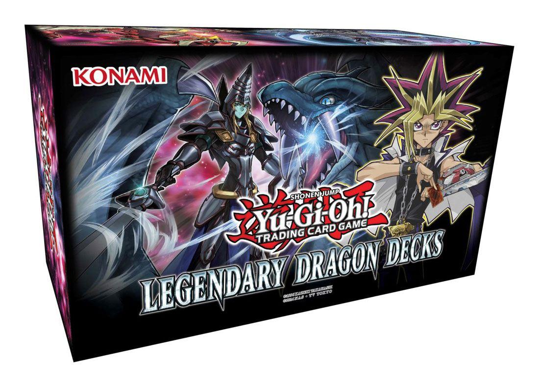 Yu-Gi-Oh! Box Set Legendary Dragon Decks (Holiday Box 2017) Display (6) *German Version*