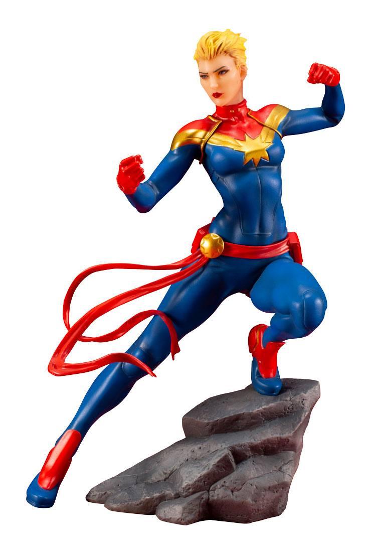 Captain Marvel Avengers Series Marvel Universe ARTFX PVC 1/10 Statue by Kotobukiya
