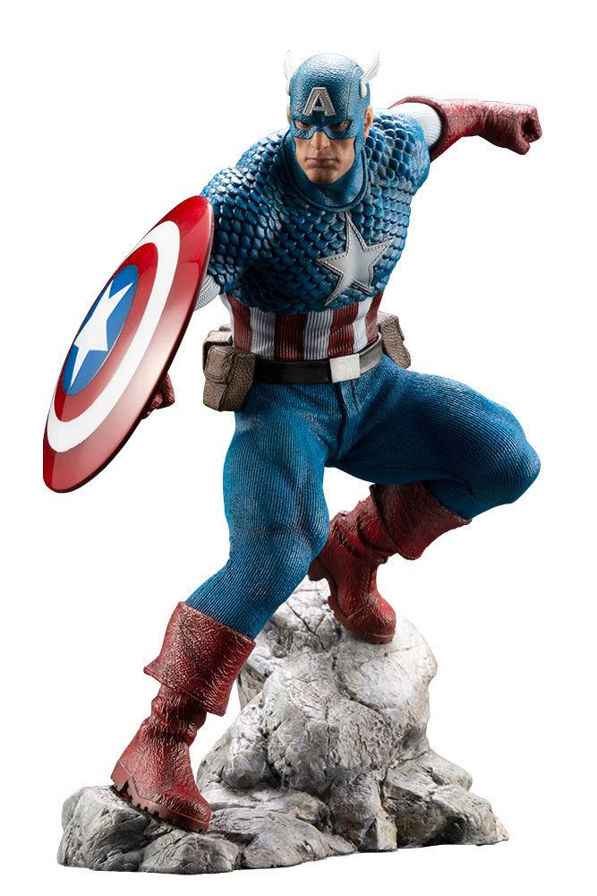 Captain America Marvel Universe ARTFX Premier PVC 1/10 Statue by Kotobukiya