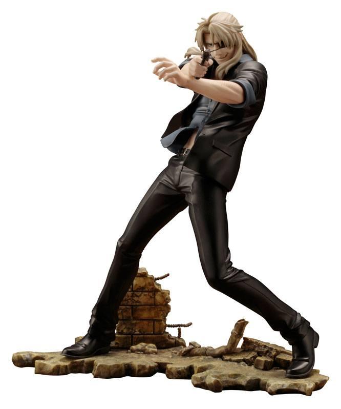 Gangsta ARTFX J Statue 1/8 Worick Arcangelo 21 cm