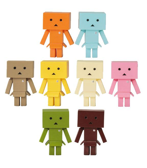 Yotsubato! One Coin Trading Figure 3 cm Danboard Nano Flavors New Version Display (10)