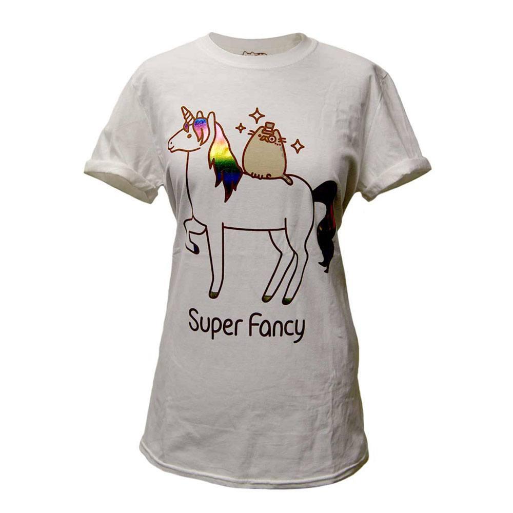 Pusheen Ladies T-Shirt Super Fancy Size S