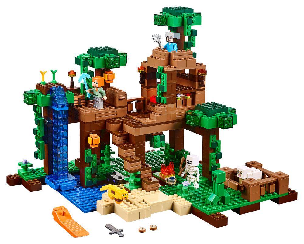 LEGO® Minecraft™ The Jungle Tree House