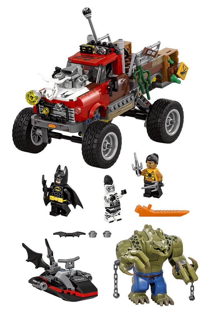 The LEGO® Batman Movie™ Killer Croc™ Tail-Gator