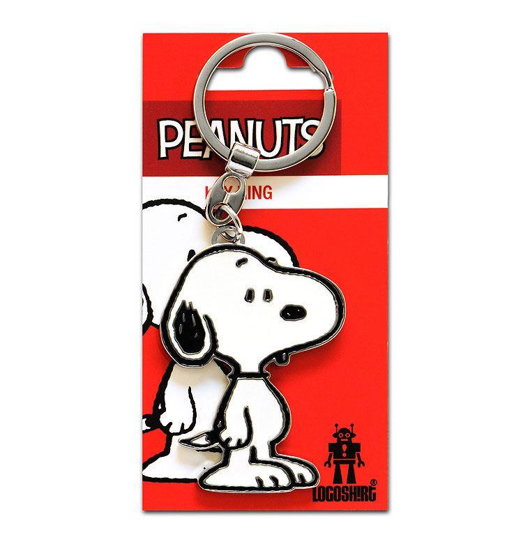 Peanuts Metal Keychain Snoopy