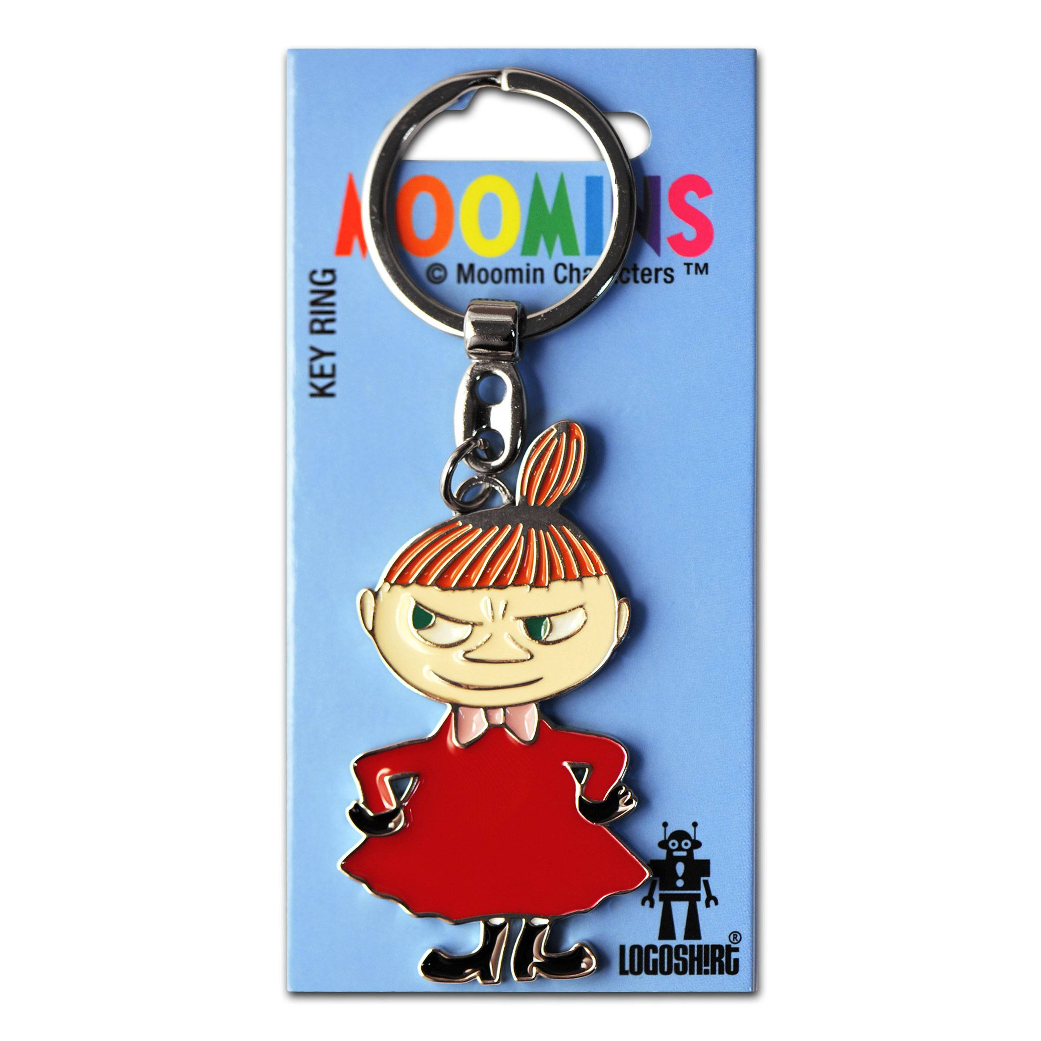 Moomins Metal Keychain Little My