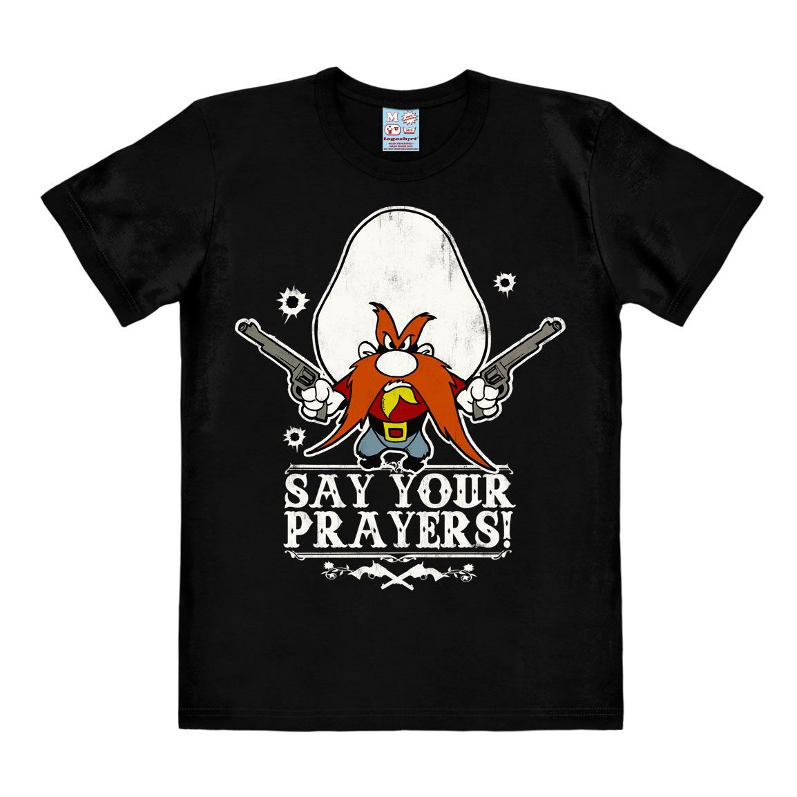 Looney Tunes T-Shirt Say Your Prayers Size L