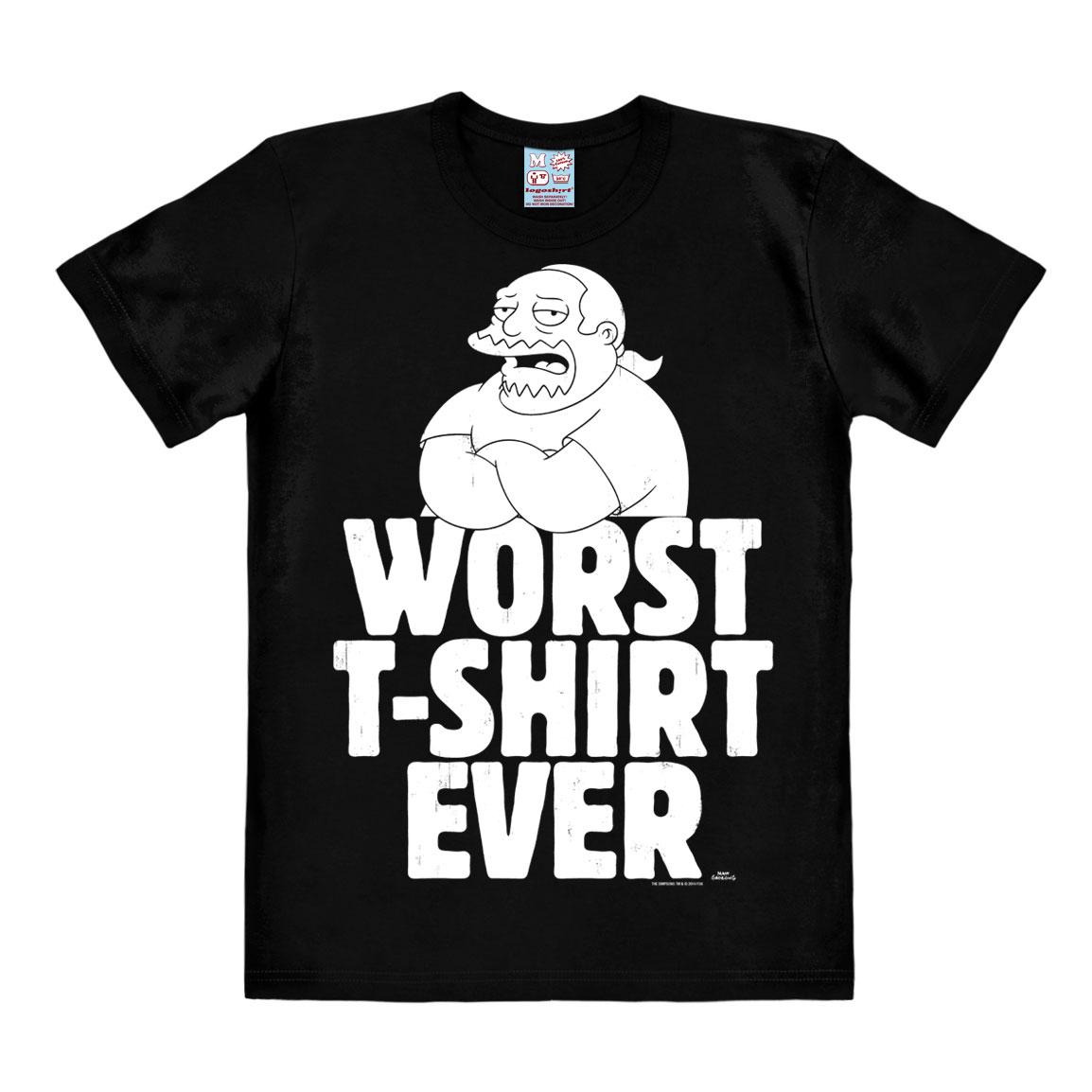 Simpsons T-Shirt Worst T-Shirt Ever Size L