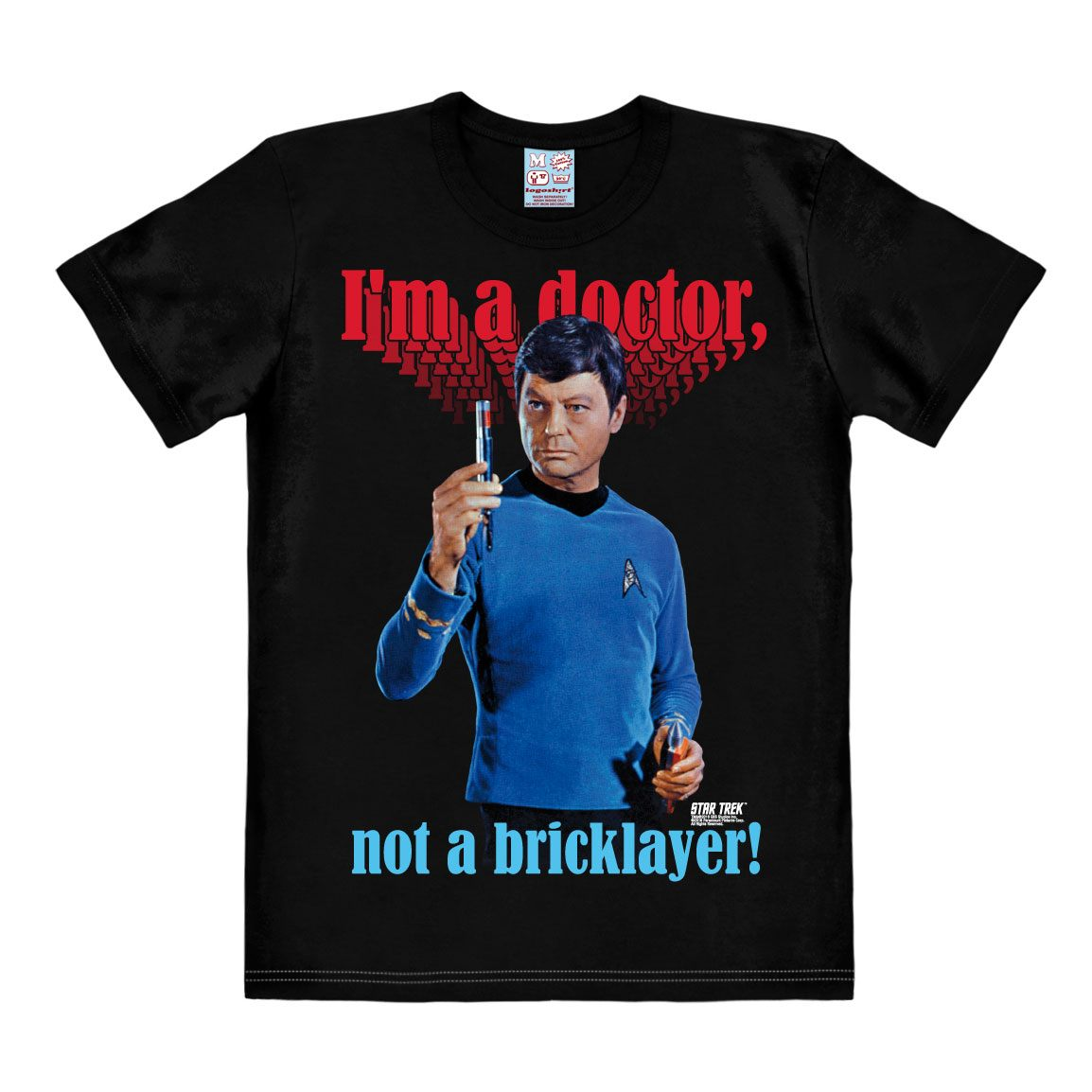 Star Trek T-Shirt I'm A Doctor Size XL