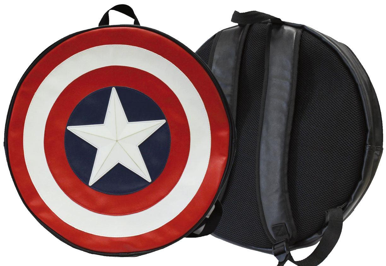 Captain America Backpack Classic Logo