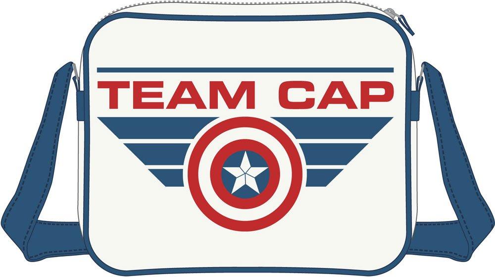 Captain America Civil War Shoulder Bag Team Cap
