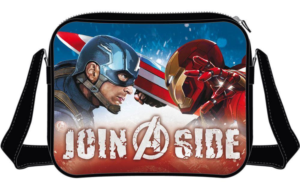 Captain America Civil War Shoulder Bag Join A Side