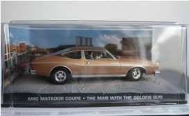 James Bond The Men With The Golden Gun Diecast Modell 1/43 AMC Matador