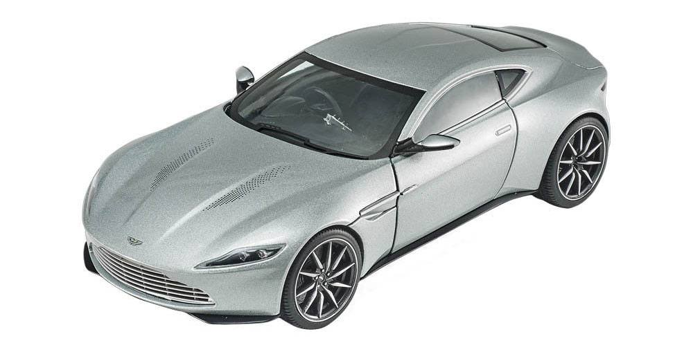 James Bond Spectre Diecast Modell 1/18 Aston Martin DB10 Hotwheels Elite Edition