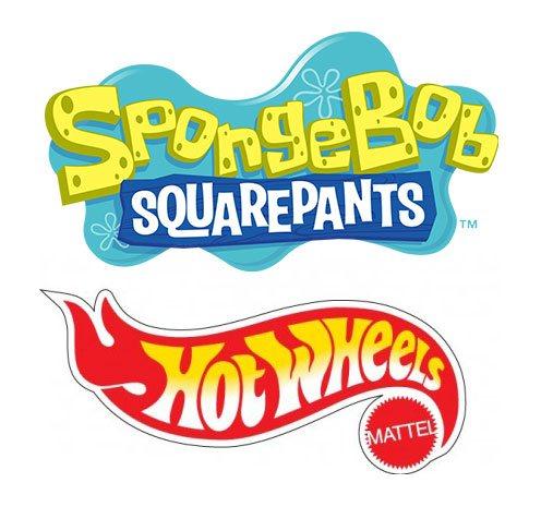 SpongeBob Square Pants Hot Wheels Vehicles 1/64  Assortment (8)