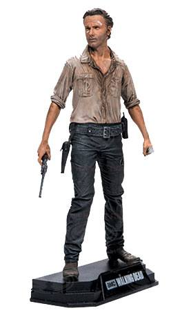 The Walking Dead TV Version Color Tops Action Figure Rick Grimes 18 cm