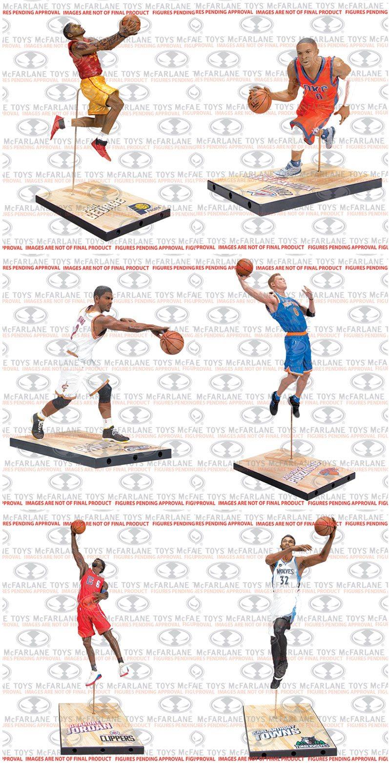 NBA Basketball Action Figures 15 cm Series 29 Assortment (8)