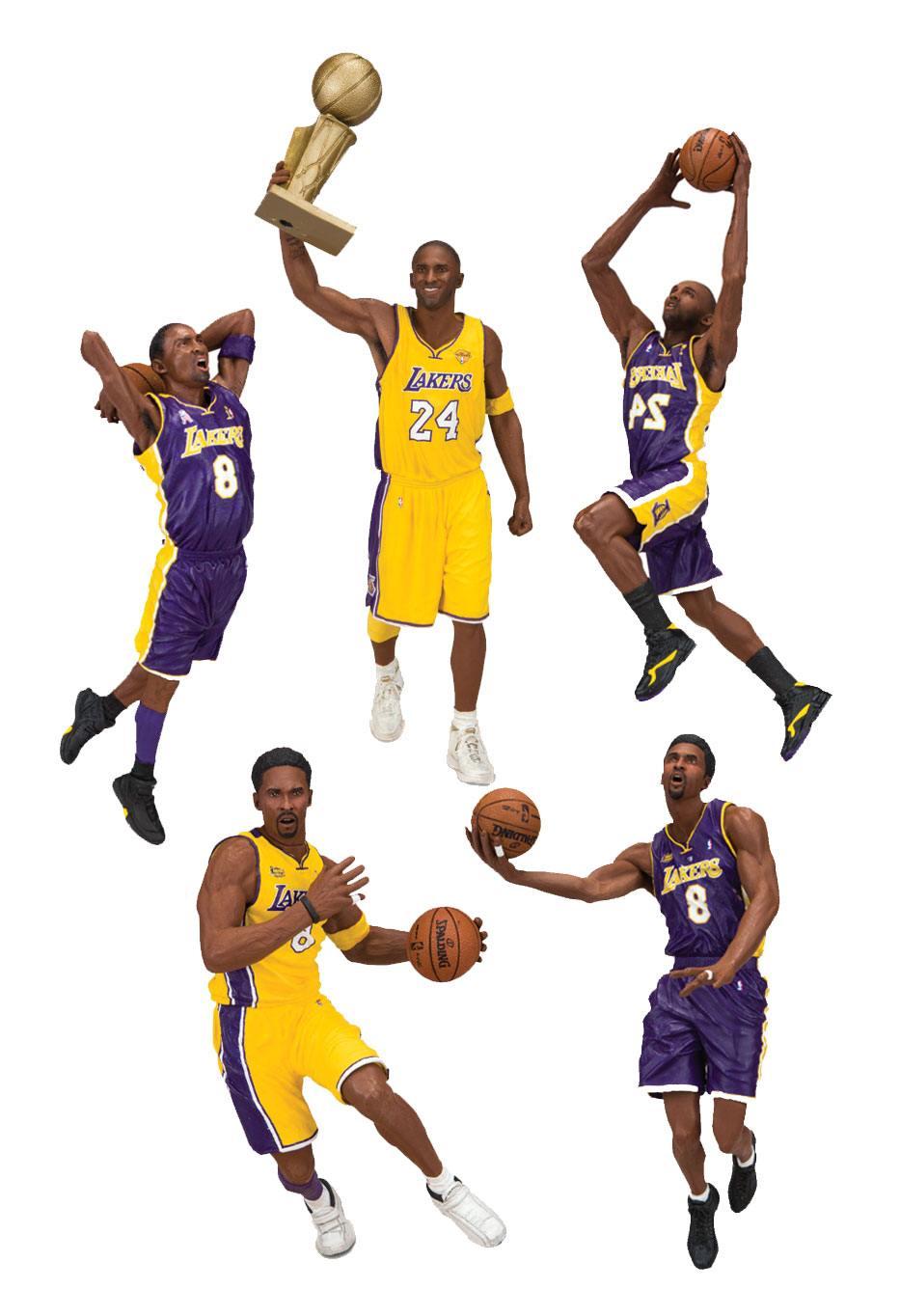 NBA Action Figures 18 cm Kobe Bryant Championship Assortment (10)