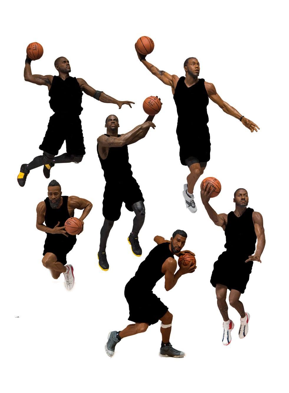 NBA Basketball Action Figures 15 cm Series 31 Assortment (8)