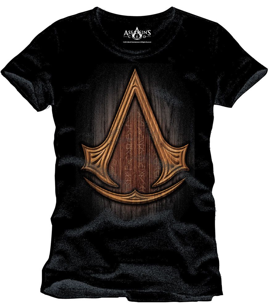 Assassin's Creed T-Shirt Insignia Wood Size XL