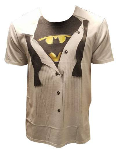 Batman T-Shirt Logo Suit Size S