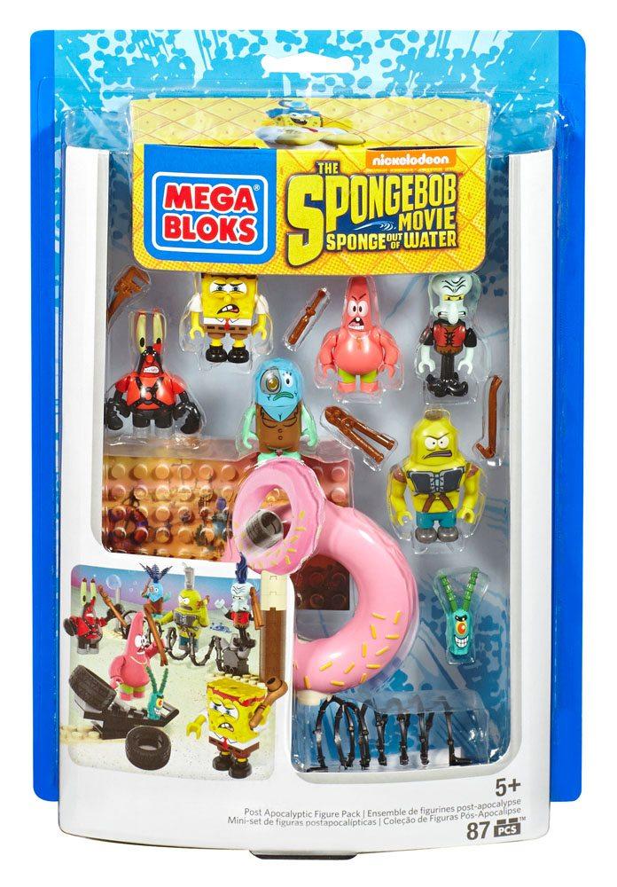 SpongeBob SquarePants Mega Bloks Construction Set Post Apocalyptic