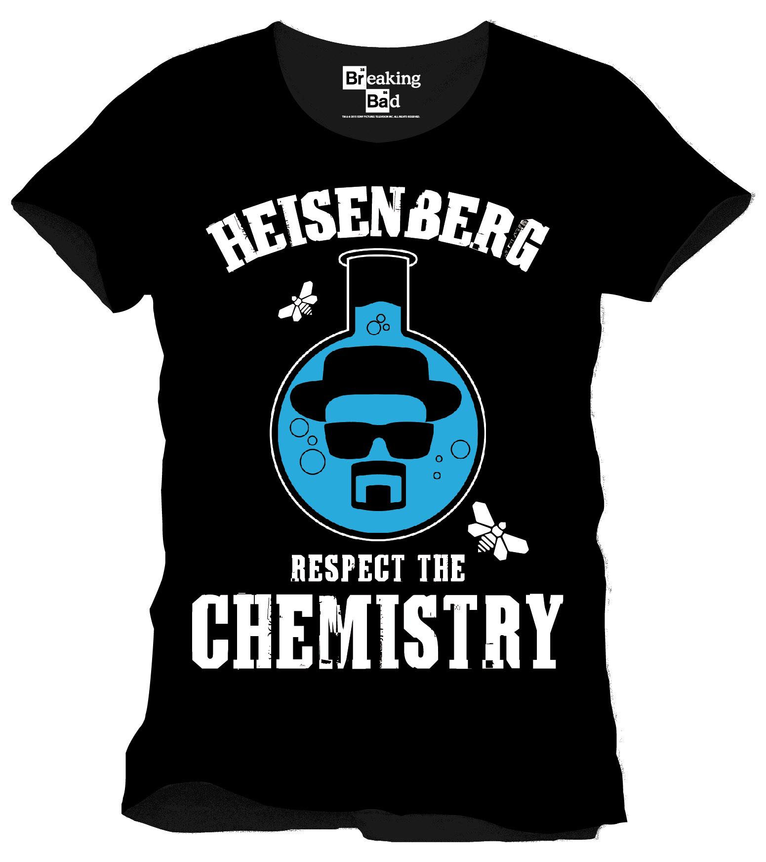 Breaking Bad T-Shirt Respect The Chemistry Size M