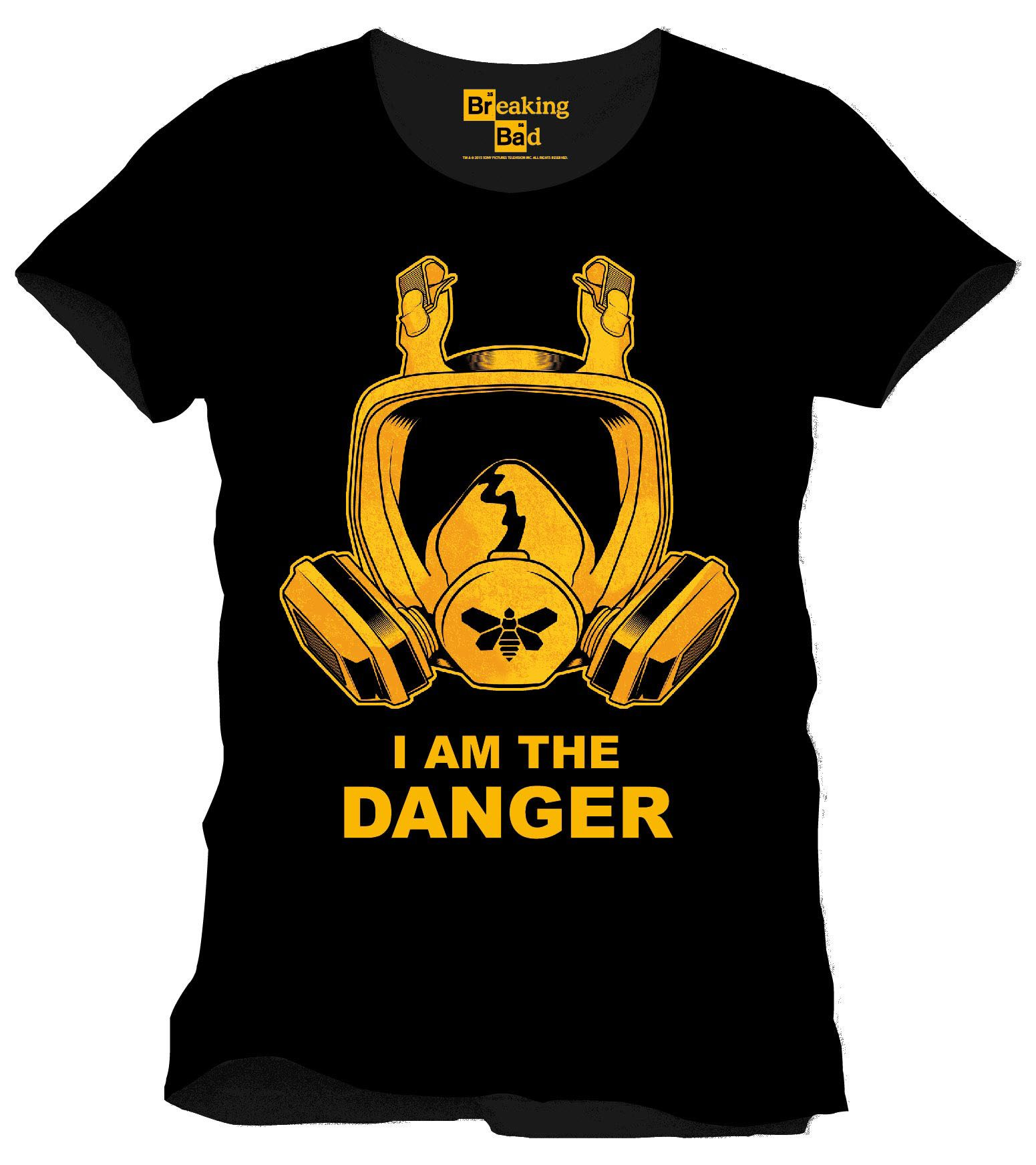 Breaking Bad T-Shirt I Am The Danger Size XL