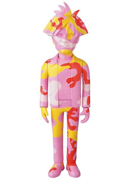 Andy Warhol VCD Vinyl Figure Andy Warhol Camo Ver. 24 cm