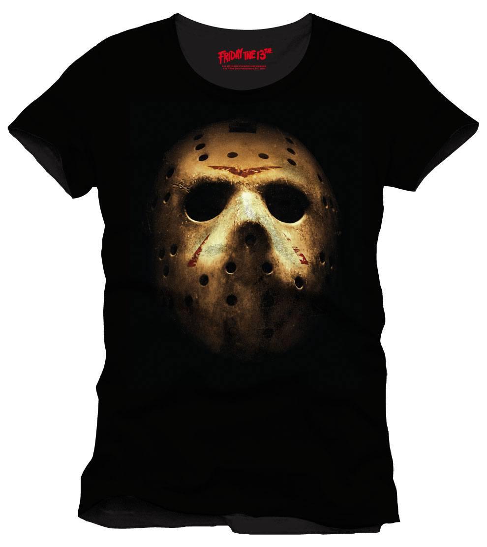Friday the 13th T-Shirt Jason Mask Size XL