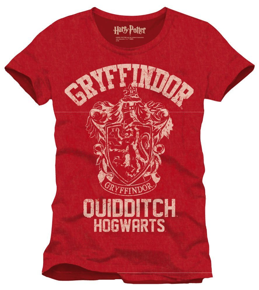 Harry Potter T-Shirt Gryffindor Quidditch Size S