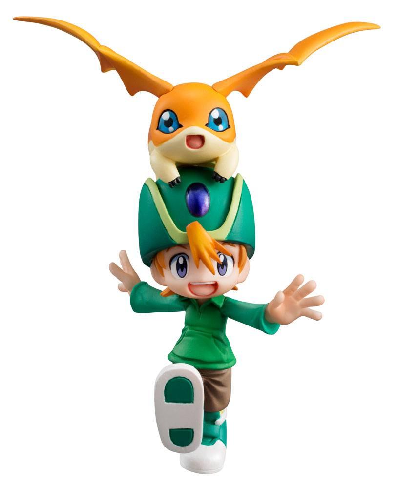 Digimon Adventure G.E.M. Series PVC Statue Takaishi Takeru & Patamon 11 cm