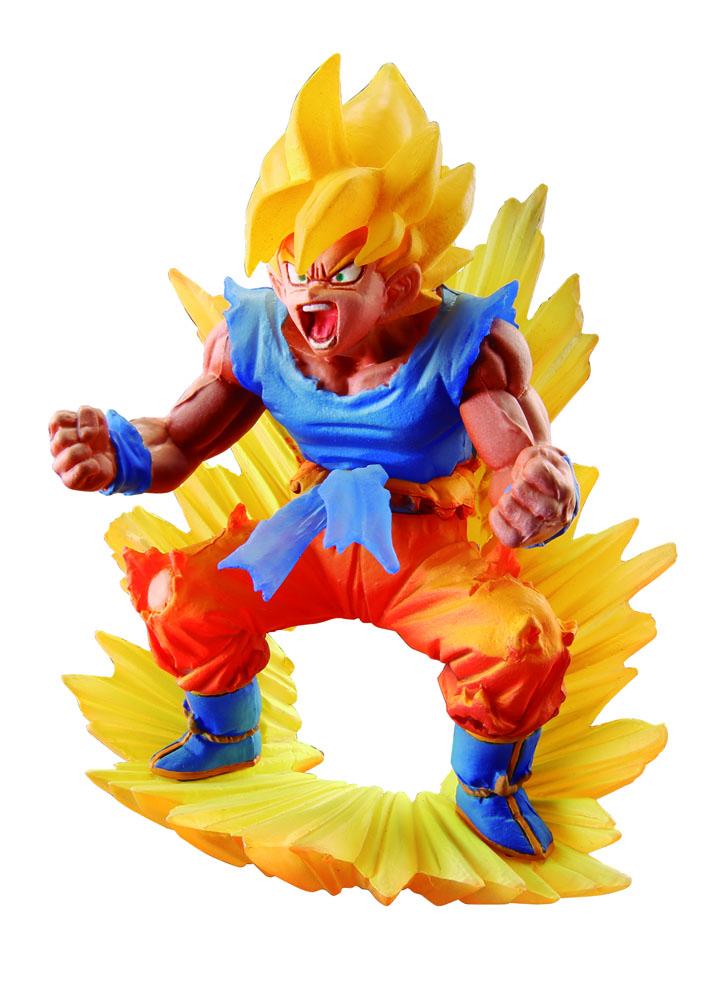 Dragonball Super Dracap Memorial 02 PVC Statue Super Saiyan Son Goku 10 cm