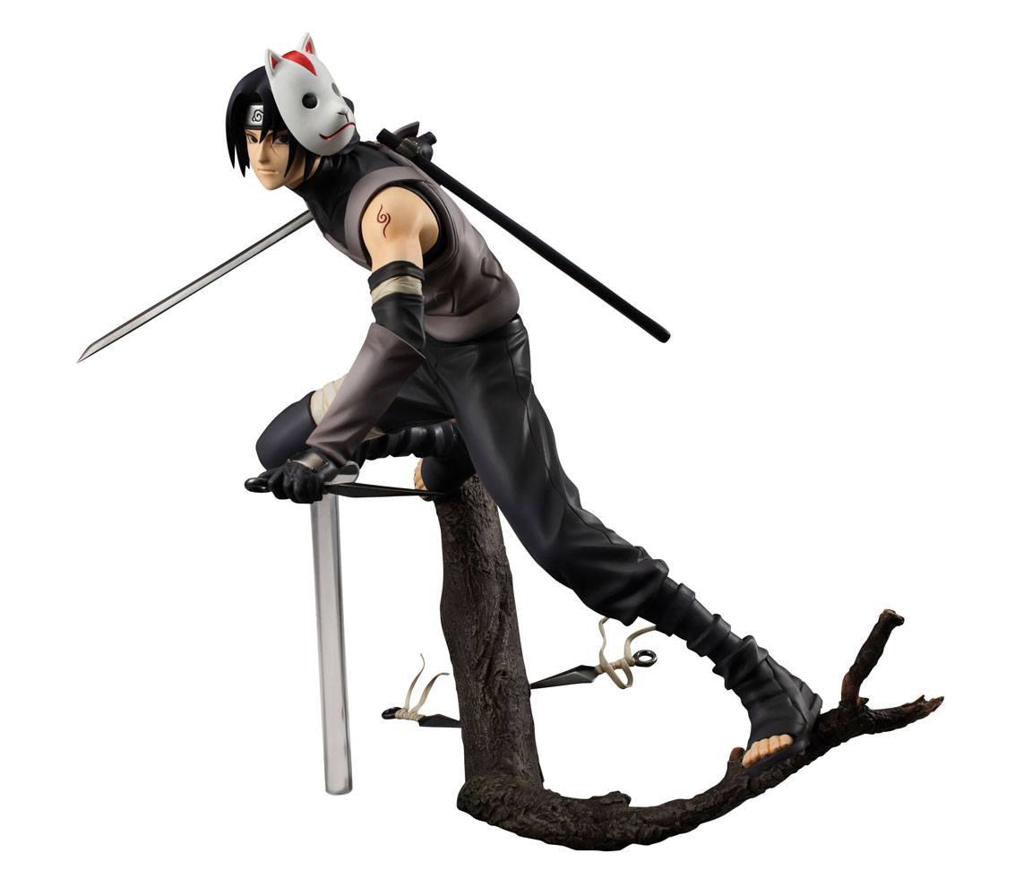 Naruto Shippuden G.E.M. Series PVC Statue 1/8 Itachi Uchiha Anbu Version 17 cm