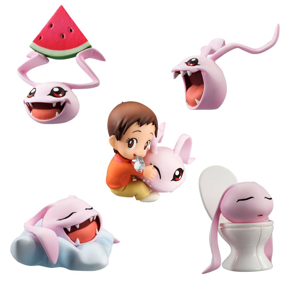 Digimon Adventure Trading Figure 5-Pack Coro-Colle! 6 cm