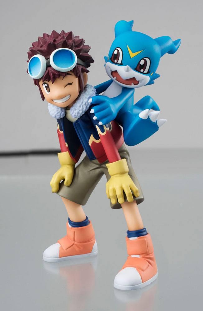 Digimon Adventure 2 G.E.M. Series PVC Statue Motomiya Daisuke & V-Mon 14 cm