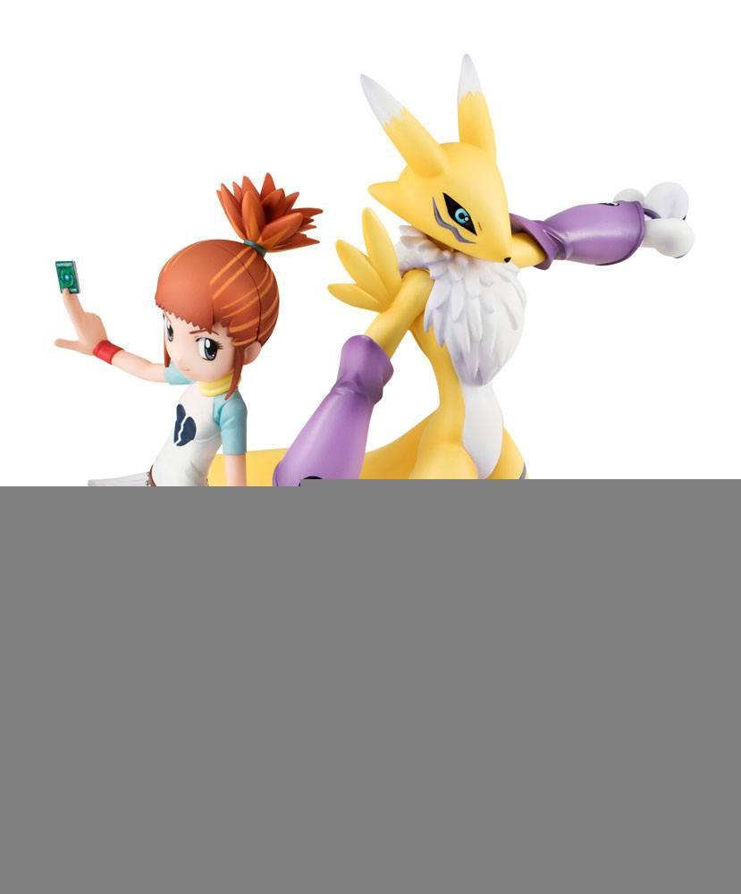 Digimon Tamers G.E.M. Series PVC Statue Lenamon & Ruki 14 cm