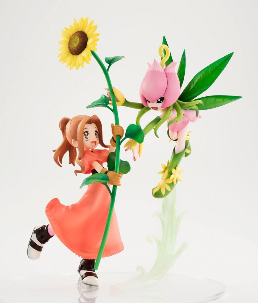 Digimon Adventure G.E.M. Series PVC Statue Lillymon & Mimi 25 cm