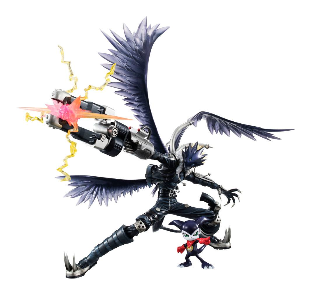 Digimon Tamers G.E.M. Series PVC Statue Beelzebumon & Impmon 18 cm