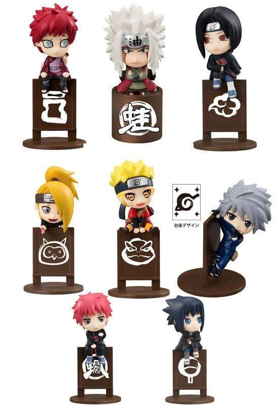 Naruto Shippuden Ochatomo Series Trading Figure 5 cm Let's Enjoy Tea Together Assortment (8)